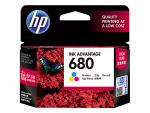 HP 680 ตลับหมึกอิงค์เจ็ท 3สี Tri-Color Original Ink