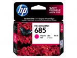 HP 685 ตลับหมึกอิงค์เจ็ท สีม่วงแดง Magenta Original Ink