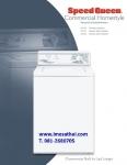 เครื่องซักผ้าฝาบนอัตโนมัติ Speed Queen รุ่นLWS17 จากประเทศ U.S.A.