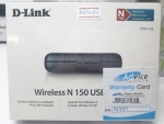 Wireless USB Adapter D-LINK (DWA-123) N150