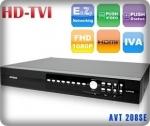 AVZ207 เครื่องบันทึกภาพคมชัดสูง 8 ช่อง HD TVI AVTECH รองรับการบันทึกภาพความละเอี