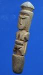 ปลัดขิกไม้แกะเก่า ขนาด 3 นิ้ว  ไม่ทราบที่         (N30489)