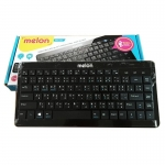 Melon Benri Ulitra Slim Bluetooth Keyboard รุ่น MK-410 - (สีดำ)