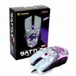 NUBWO BATTLE SERIES Gaming MOUSE รุ่น NM-78B สีขาว/ดำ