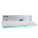 USB Wireless Keyboard RAPOO (KB-E1050-BL) Blue