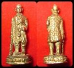 รูปหล่อพระเจ้าตากสินมหาราช วัดลุ่มมหาชัยชุมพล ปี 2519 พิธีดี