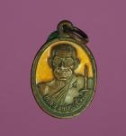 5977 เหรียญครบ 100 ปี หลวงพ่อแช่ม วัดฉลอง ปี 2551 เนื้อทองแดงลงยา 59