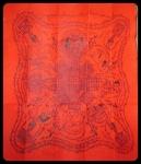 ผ้ายันต์กิ่งแก้ว หลวงปู่ฤทธิ์ รตนโชโต วัดชลประทานราชดำริ (ปลุกเสกไตรมาส ๒๕๔๑) (ข