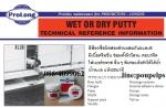 ฝ่ายขาย ปูเป้0864099062 line:poupelpsสินค้าProlong Wet or Dry Putty อีพ็อกซี่2ส่
