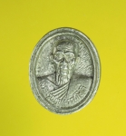 8318 เหรียญพระครูปทุมธรรมโชติ วัดราษฏร์ศัทราทำ ปทุมธานี เนื้อเงิน 46
