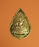 8980 เหรียญพระพุทธชินราช หลังหลวงพ่อเดิม วัดหนองโพ นครสวรรค์ ปี2541 กระหลั่ยทอง