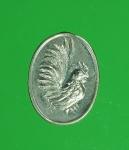8999 เหรียญไก่เม็ดแตง หลวงปู่้สรวง วัดภ้ำพรหมสวัสดิ์ ลพบุรี หมายเลข 2103 ชุบนิเก