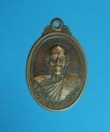 9115 เหรียญพระรครูปัญญาสราภิวัฒน์ วัดท่าเกษม ปราจีนบุรี เนื้อทองแดง 48