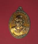 10887 เหรียญพระครูนนทสิทธิการ วัดไทรน้อย นนทบุรี เนื้อทองแดง 41