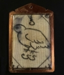 ผ้ายันต์เขียนมือ ยันต์นกคุ้ม หลวงพ่อวิง วัดสะพาน (โชว์อย่างเดียวครับ)