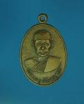 11054 เหรียญพระครูภัทรญาณ วัดสัมปทวน นครปฐม เนื้อทองแดง 36