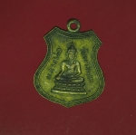11122 เหรียญพระพุทธ หลังหลวงพ่อฉิ่ง วัดบางพระ ชลบุรี ปี 2511 กระหลั่ยทอง 26