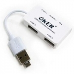 OKER C-1505 Card Reader + Hub OTG