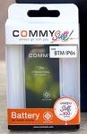 Commy แบตเตอรี่ iphone i6s- Black