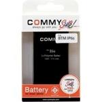 Commy แบตเตอรี่ iPhone 6s Plus - black