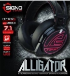 SIGNO E-Sport HP-818S ALLIGATOR 7.1 Surround Sound Vibration Gaming Headsets
