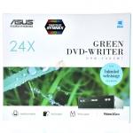 ASUS DVD RW SATA 24X รุ่น 24D5MT (Box) - Black
