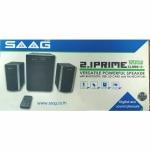 SAAG ลำโพง BLUETOOTH FM USB 1200W BLACK