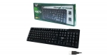 คีย์บอร์ดUSB Keyboard MD-TECH (KB-670) Black