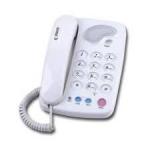 Reach โทรศัพท์ บ้าน รุ่น KX-T124 ชนิด ตั้งโต๊ะ หรือแขวน ผนัง