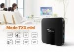 Tx3 mini Android Box,Android7.1 ,Ram 2 GB , Rom 16 GB ,Amlogic S905W ,WIFI 2.4 ,