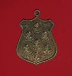11887 เหรียญ 7 อาจารย์ วัดปัจมิตร สุพรรณบุรี ปี 2516 เนื้อทองแดง 84