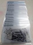 อาร์ตมีเดีย พริ๊นท์ 0.76 บัตรพลาสติก พื้นโปร่งใส