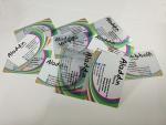 มีเดียอาร์ต การพิมพ์การ์ดโปร่งใส 500 การ์ดแฟนคลับ การ์ดของขวัญ บัตรชมรม