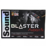SOUND Card  BLASTER AUDIGY FX 5.1 PCIe Sound Card with SBX Pro Studio