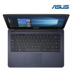 Asus Notebook E402NA-GA239T/Pentium 4200/4G/1TB/UMA/14 inch HD/Win10/carry bag/Dark Blue