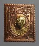 เหรียญพระรูป ร.5 นะหน้าทอง  ปลุกเสกหลวงพ่อเกษม เขมโก จ.ลำปาง ปี2536 (N45772P)