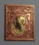 เหรียญพระรูป ร.5 นะหน้าทอง  ปลุกเสกหลวงพ่อเกษม เขมโก จ.ลำปาง ปี2536  (N45773P)