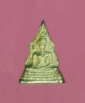 12565 เหรียญ(จิ๋ว) พระพุทธชินราช พิษณุโลก สูงประมาณ 0.7 เซนติเมตร  เนื้อเงิน 54