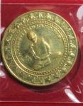เหรียญหลวงพ่อพรหม รุ่นมหาลาภ วัดช่องแค จ.นครสวรรค์  (N46437)
