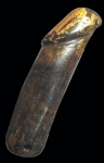 ปลัดขิก 4 นิ้ว(จารมือ ไม้เก่ามาก)  (N46846)