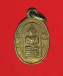 12856 เหรียญเม็ดแตง วัดอนงค์ กรุงเทพ ปี 2503 เนื้อทองแดงกระหลั่ยทอง 18