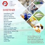 ซูคราโลส, ซูคาร์โลส, Sucralose, E 955, INS 955, สารให้ความหวานแทนน้ำตาล