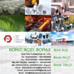 บอริกแอซิด, กรดบอริก, Boric acid, Orthoboric acid, บอริคแอซิด, กรดบอริค
