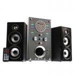Music D.J. SA-1200T Speaker 2.1Ch./Bluetooth/FM/USB ลำโพงพร้อมซับวูฟเฟอร์ รับประ