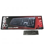 Signo Standard Besico Keyboard รุ่น KB-77 USB - Black