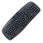 Signo Standard Keyboard รุ่น KB-716 USB (Black) กันน้ำ