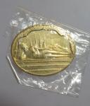 เหรียญพระนอน หลังภปร.มหามงคลเฉลิมพระชนมพรรษา 5 รอบ  (N47469)
