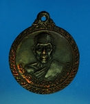 13209 เหรียญเลื่อนสมณศักดิ์ หลวงพ่อตาบ วัดมะขามเรียง สระบุรี ปี 2528 เนื้อทองแดง
