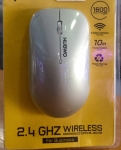 NUBWO 2.4GHZ. Wireless Optical Mouse  (NMB-016) Black