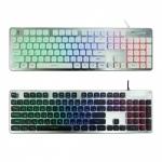 keyboard Nubwo NK32 Fortune เสียงเงียบ ไฟสีรุ้ง 7 สี LED 4 รูปแบบสีนค้ามีรับประก